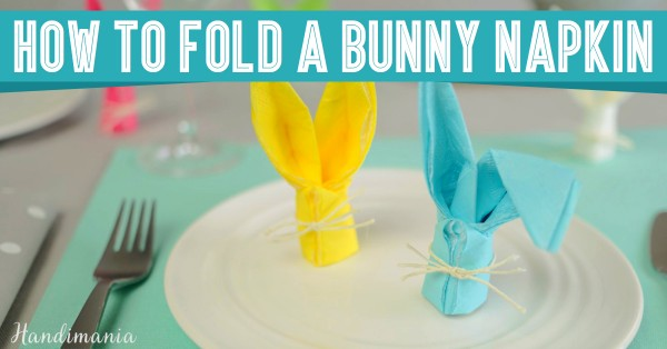How to fold a bunny