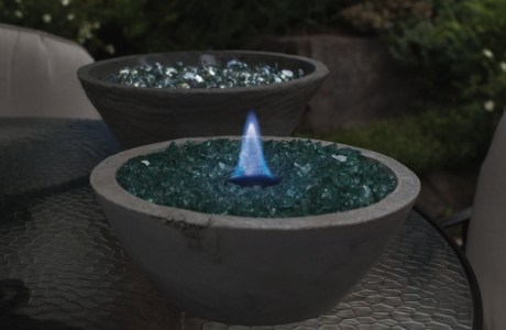 How to make a table top fire pit