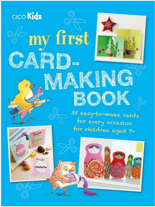 Giveaway- My First Card-Making Book 35 easy-to-make cards for every occasion for children aged 7