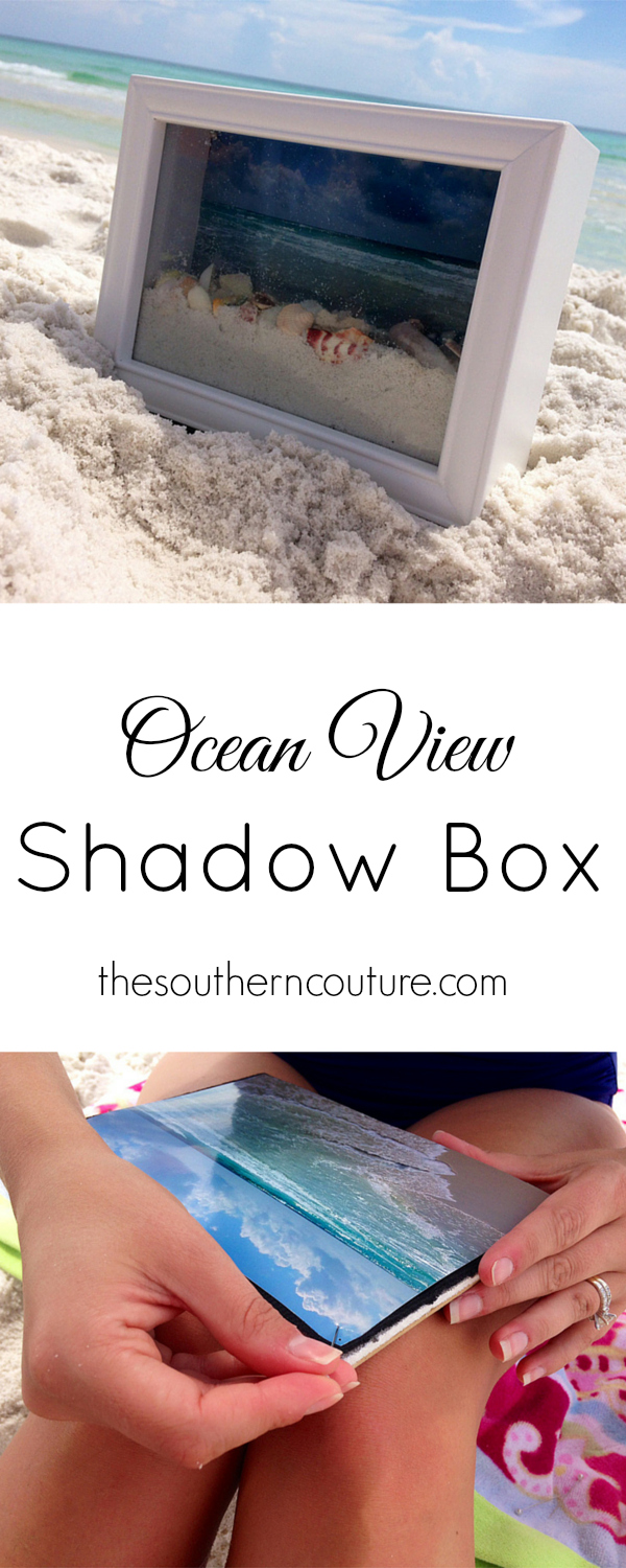 How to make a sea shell memory box from your summer travels