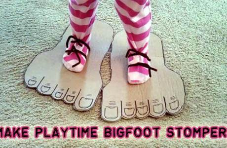 How to make big feet