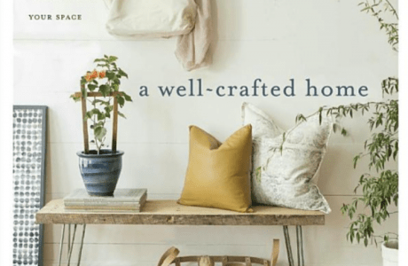 Giveaway: A Well-Crafted Home: Inspiration and 60 Projects for Personalizing Your Space