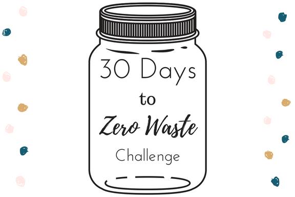 Happy New Year! 30 Days to Zero Waste