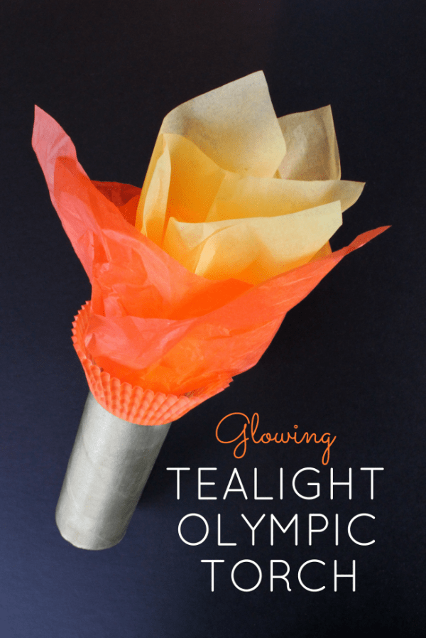 How to make a light up Olympic torch