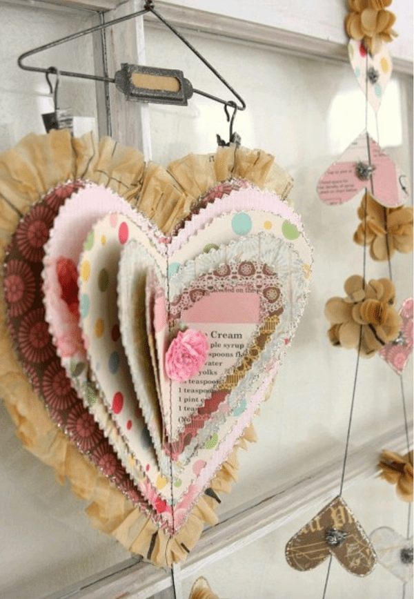 Great collection of recycled sewing pattern projects