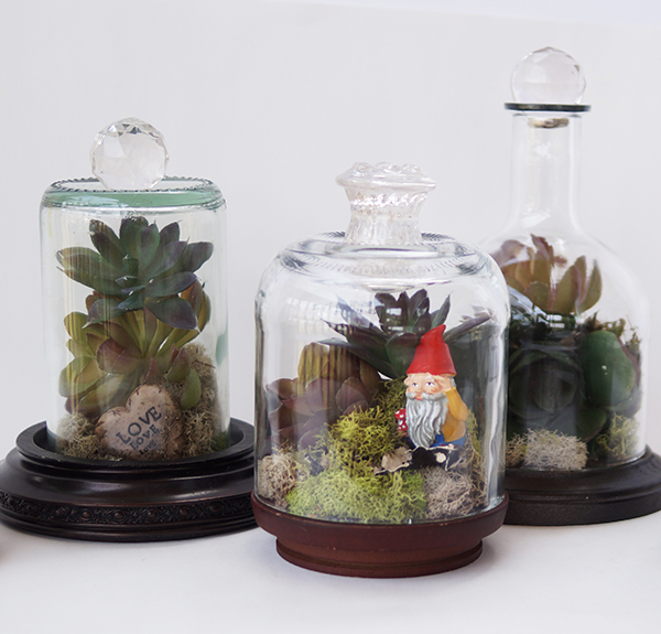 Recycled Glass Terrariums Recycled Crafts