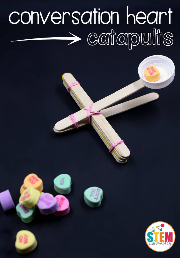 How to make a conversation heart catapult