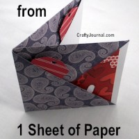 Cool way to fold a 6 pocket paper book