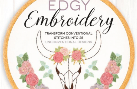 Giveaway-Edgy Embroidery: Transform Conventional Stitches into 25 Unconventional Designs
