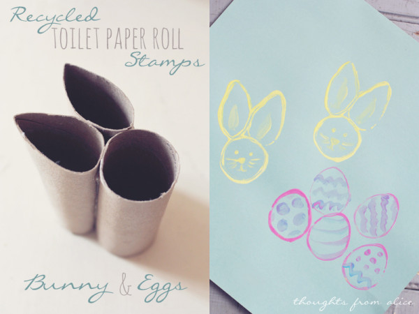 How to make a Easter bunny stamp