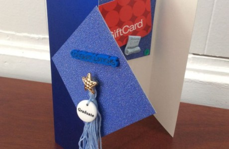 How to make a graduation cap card