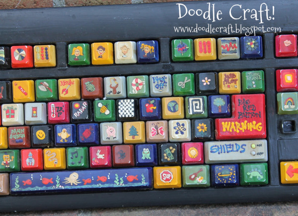Fun idea for upcycling a keyboard