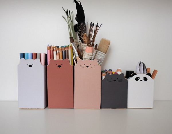 How to make adorable animal containers from recycled milk cartons