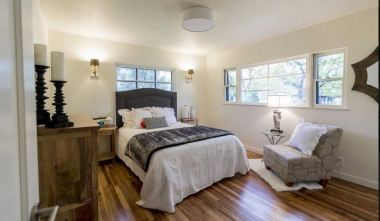 Bedroom Staging Boise