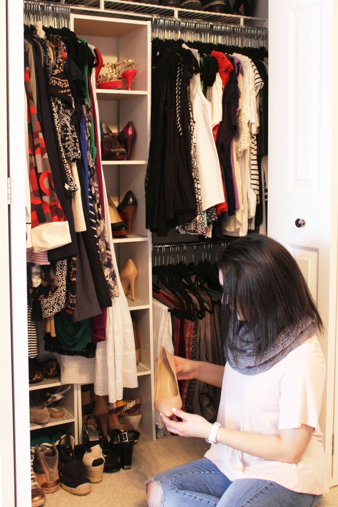 Making a Small Closet Look Posh