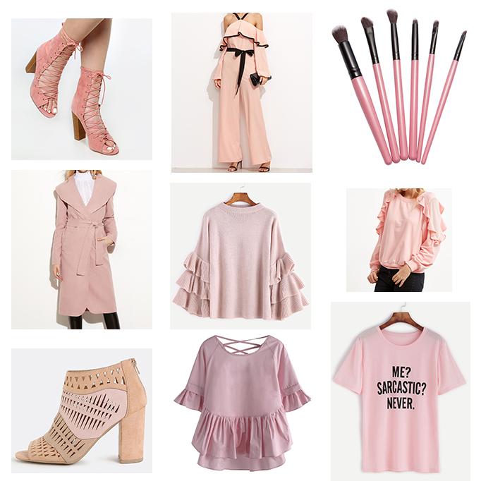 Spring 2017 Fashion Trend: Pink