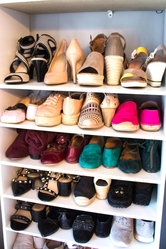 DIY Shoe Storage for Under $100