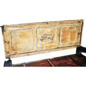 Upcycled outdoor garden furniture diy Ford Truck Tailgate Bench