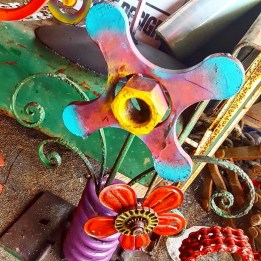 Folk art flower