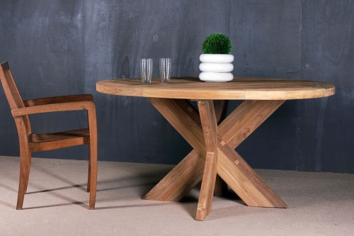 reclaimed teak table - PFIT-08