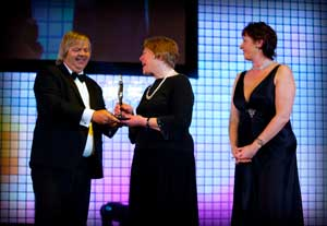 Sylvia and Debbie collects the BIBA
