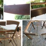 Halbe Stuhle Als Regal Und Decoupage Technik Tolle Upcyclingidee Ideen Selbermachen Nachhaltig Leben