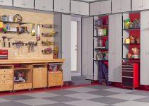 diy garage shelves