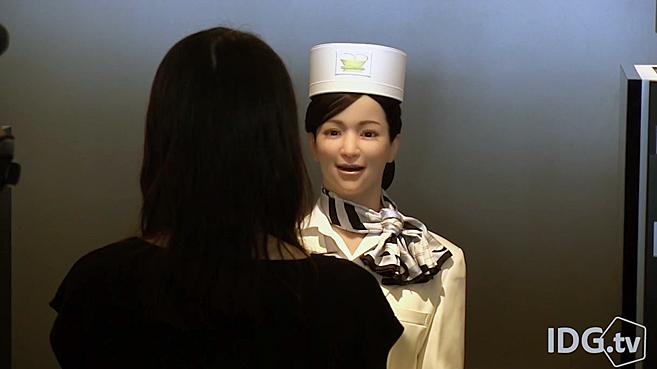 Recepcionista Robot