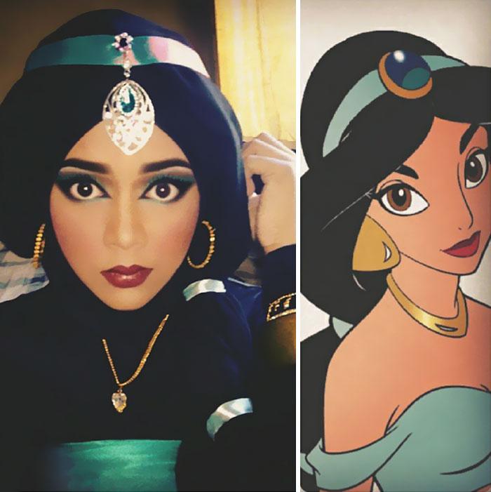 Disney Maquillaje Princesas (1)