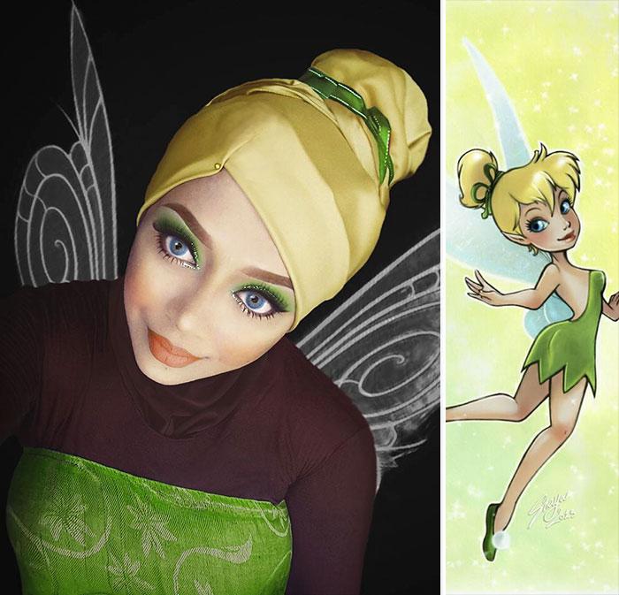 Disney Maquillaje Princesas (4)
