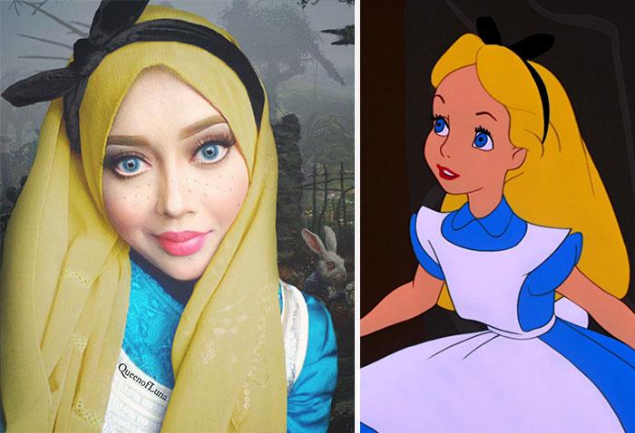 Disney Maquillaje Princesas (8)