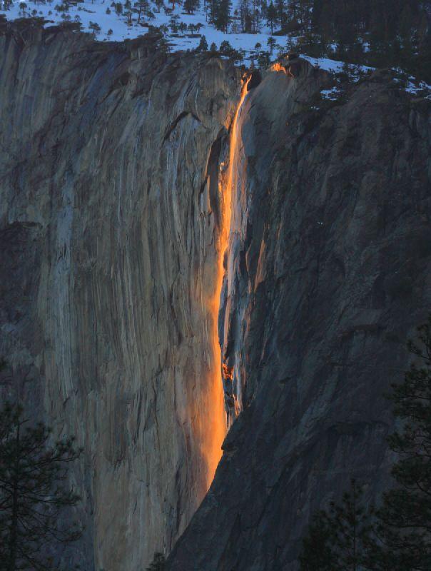 Cola de Caballo en Yosemite