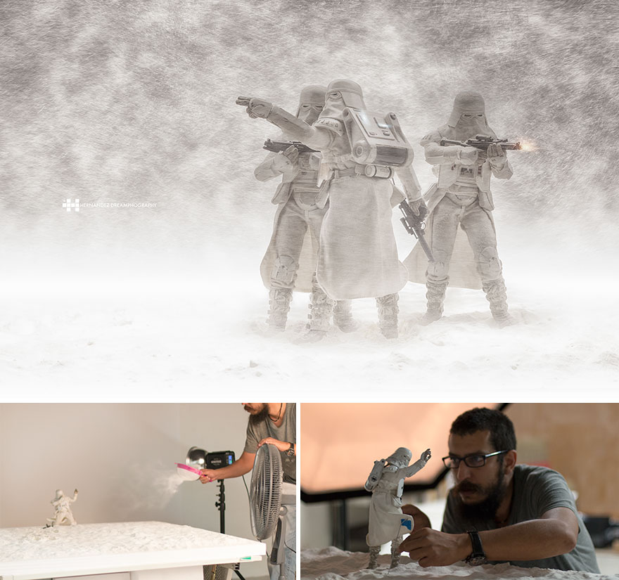 Snow Storm Troopers