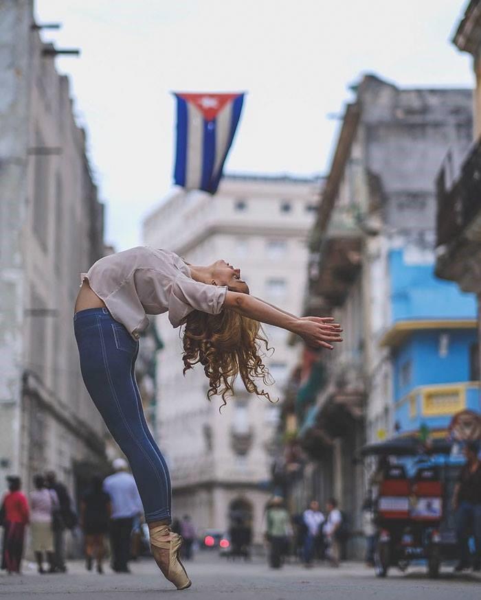 La habana, sus calles, su ballet, sus bailarines