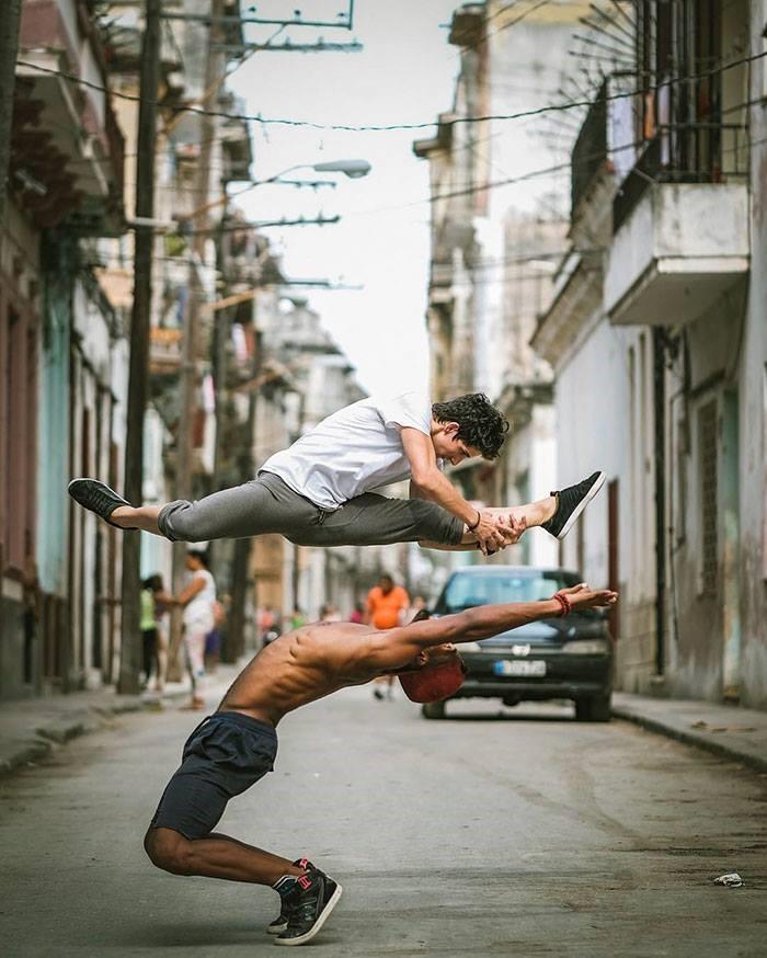 Fotos impresionantes de bailarines en la habana