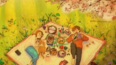 El amor en ilustraciones