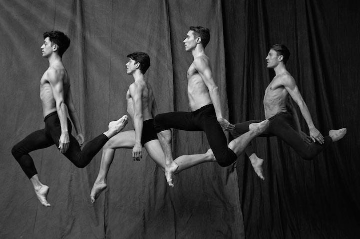 Poses de bailarines