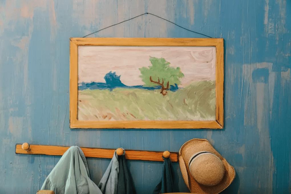Quieres vivir dentro de un cuadro de Van Gogh? En esta habitación ...