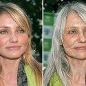 ¿Te has imaginado cómo lucirán las celebridades dentro de 50 años?