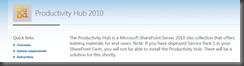 SharePoint 2010 Training material (1/5)