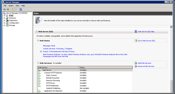 Deploying Cognos to SharePoint 2010 / 2007 (4/6)