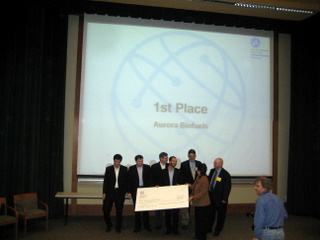 Aurora Biofuels wins Intel Business Plan Competition