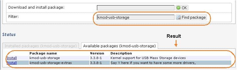 OpenWRT - Rootfs & Swap on USB Storage (4/6)