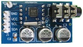 FM Radio using RDA5807M module with Digilent chipKIT uC32 and Basic I/O (2/6)