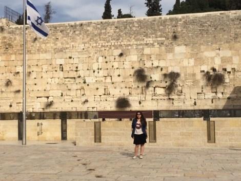 Liat no Kotel Hamaaravi (Muro das Lamentações)