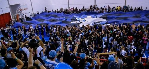 Recebendo a Taça no JUCA 2016