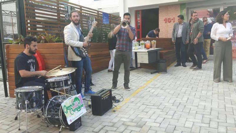 Evento de inauguração Vaga Viva