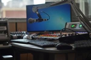 Equipamentos da Rádio Mackenzie
