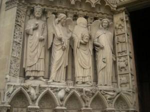 Detalhe da Catedral de Notre Dame