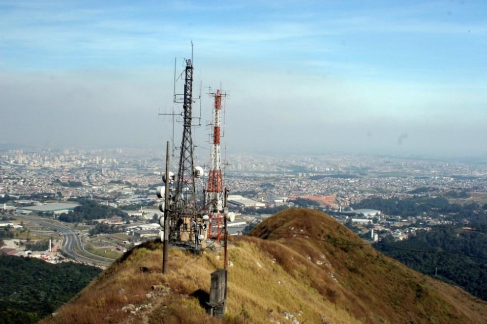 Vista do Pico do Jaraguá. Foto: Ana Paula Hirama